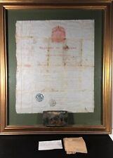 Antique Hunting Permit, Kingdom Of Belgium, 1864