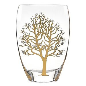 "(D) Decorative ""Tree of Life"" Flower Vase, Limited Adition Home Decor (S1003)"
