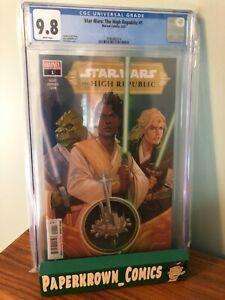 STAR WARS HIGH REPUBLIC #1 A-Cover CGC 9.8 first print... IN HAND!