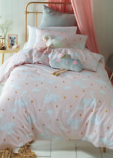 Swan Princess Girls Single Bed Quilt Cover Set Jiggle Giggle