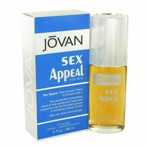 Jovan Sex Appeal for Men by Coty Cologne Spray 3 oz -  New in Box