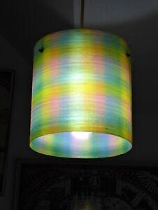 1960's/70's. Retro Fibreglass Lampshade in v.g. used condition.