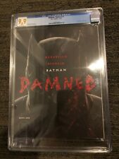 Batman Damned #1 CGC 9.9 MINT A- Cover First Appearance of the 'Bat-Wang'!