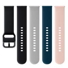 Genuine Fluoroelastomer Band Wrist Strap for Samsung Galaxy Watch Active SM-R500