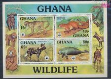 ghana Bloc 71 neuf 1977 Animaux (8777055