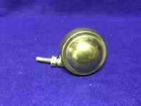 Shepherd Satellite Swivel Stem Caster Metal Tread Stem Sold Separately Brass One
