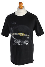 Vintage Hanes T-SHIRT WIZ KHALIFA Metal Festival Sportswear 90s M Negro-TS103