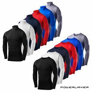 Compression Base Layer Boys Kids PowerLayer Long Sleeve Thermal Winter Shirt