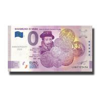 2020-1 Finland LEBF Anniv. SIGISMUND III Billet Souvenir Banknote Euro Schein