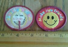 Girl Scout=Make New Friends=Fun Patches/Badges=$1.95 Ship
