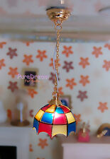 1/12 Dollhouse Miniatures Ceiling light Lamp Battery Operated LC013E