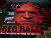 WWE Magazine Oct 2003 Red Rage Kane Unmasked