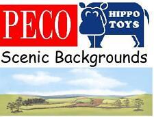 Peco Scenic Backgrounds or Backscenes OO Gauge Model Railways - Choose from list