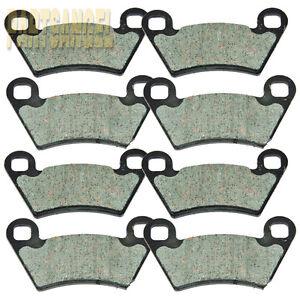 Front Rear Brake Pads For 2005-2007 Polaris 700 Ranger XP 700 4x4 6x6 EFI