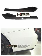 For BMW F30 F31 M Sport 335 Carbon Rear Bumper Splitter Spoiler Lip