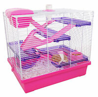 Rosewood Pico Extra Large Syrian Hamster Cage, Pink
