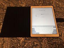 """Apple iPad Pro 1st Gen 12.9"""" Wifi (? GB) Silver - AS IS *ICLOUD*"""