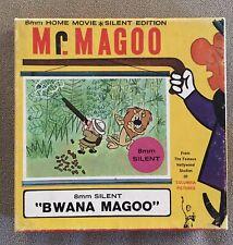 Mr. Magoo Silent 8mm Original Cartoon Film Plays GREAT