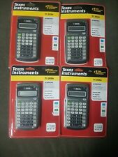 Texas Instruments Ti-30Xa Scientific Calculator Lot of 4