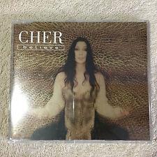 CHER - BELIEVE - CD SINGLE _Good+++.