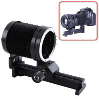 Macro Bellows Lens Tripod Extension Bellows For Canon EOS EF Mount Focus RF