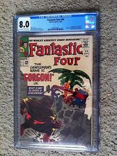 FANTASTIC FOUR #44 CGC 8.0 - 1ST GORGON FROM INHUMANS, KEY ISSUE