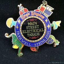 Disney MAIN STREET ELECTRICAL PARADE FAREWELL SPINNER Spring 2001 Train Pin