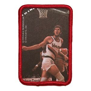 """1978 BILL WALTON PORTLAND TRAIL BLAZERS NBA BASKETBALL 3"""" PLAYER PICTURE PATCH"""