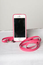 Crossbody iPhone 5 / 5S  Cell Case,  Hot Pink  Fits New SE  FREE SHIPPING