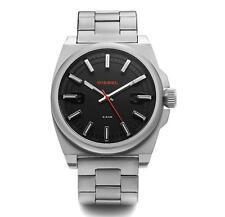 Genuine Diesel DZ1614 Black Dial Stainless Analog Quartz Watch 46mm