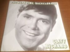 CLIFF RICHARD the next time*bachelor boy 1982 UK COLUMBIA REISSUE PS 45