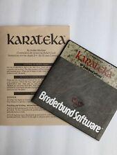 Karateka Commodore 64 Game Complete