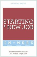 START YOUR NEW JOB IN A WEEK