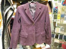 superbe veste femme velours violet taille 36/38 propre c9