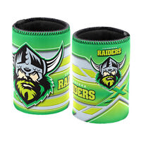 Canberra Raiders NRL TEAM Beer Can Bottle Cooler Stubby Holder Cosy Bar DAD Gift
