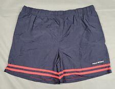 Large Polo Sport Ralph Lauren Mens Blue Nylon Shorts VTG