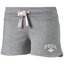 Pantalones cortos de mujer de color principal gris de poliéster