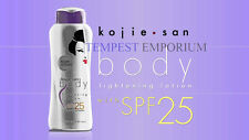 2 x Kojie San Body Skin Lightening Lotion SPF25 250ml Whitens & Moisturises