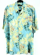 Tori Richard Size XL Rayon SS Shirt Camp Aloha Chest 51""