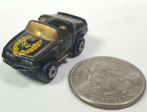 Pontiac Trans Am Black Bandit Gold Galoob Micro Machines LGTI Rare Vintage