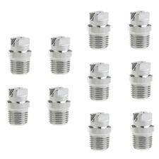 "10 Packs High Pressure Spray Nozzle Tip 1/4"" Pressure Washer Accessories"