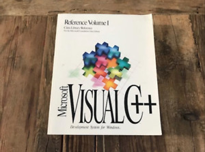 Visual C++ Development System for Windows Reference Volume 1 Class Library Refer