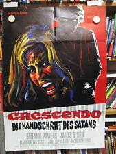 CRESCENDO Filmplakat Poster Hammer Horror STEFANIE POWERS 1970