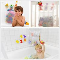 Bath Toy Organizer Mesh Net Bag Storage Baby Toddlers Kids Toy With 2 Hook