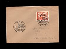 Germany WWII Special 100 Years Berlin Post Office Cancel Swastika 1942 Cover 1p