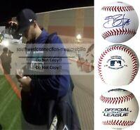 Braden Bishop Seattle Mariners Signed Autograph Baseball Exact Proof Photo COA
