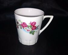 Regent Fine China Coffee Tea Cup White Pink and White Roses