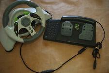 Madcatz MC2 Xbox 360 Racing Volante & Pedal/probado, trabajando