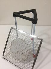 "7"" Lab Bunsen Burner Tripod Cast Iron Support Stand with Mesh size 6"" x 6"""