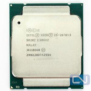 Intel Xeon E5-2678 v3 2.5 GHz 30 MB 12 Core SR20Z LGA2011-3 Fair Grade CPU